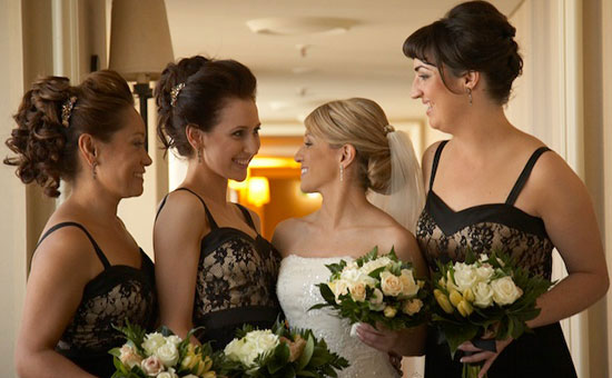 Bridesmaids-Hairstyle Ideas