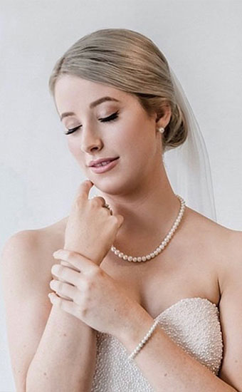 Modern Stylish Real Bride