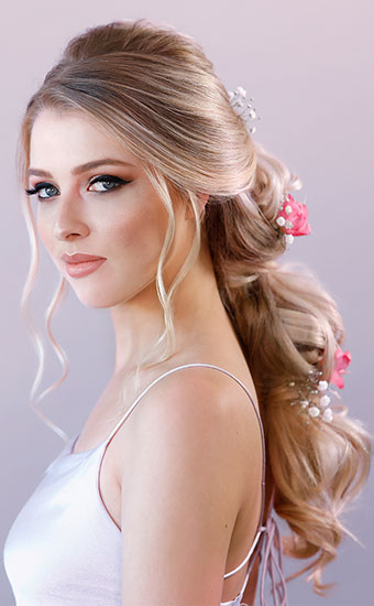 Powder Bride Boho Hairstyle 2019