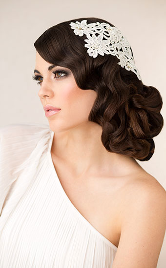 Wedding Hairstyles Boudoir Wedding Hairstyle Fingerwave
