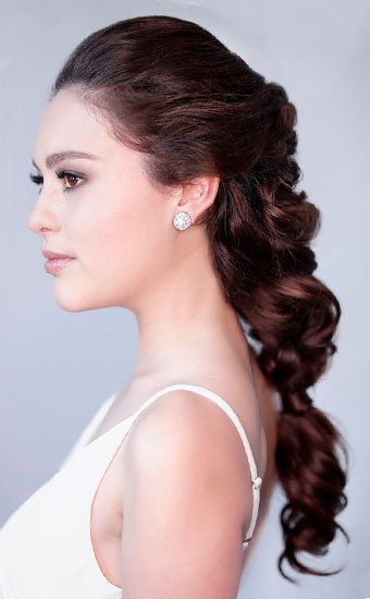 Wedding Hairstyles Braid Boho Hairstyle Wedding 2018