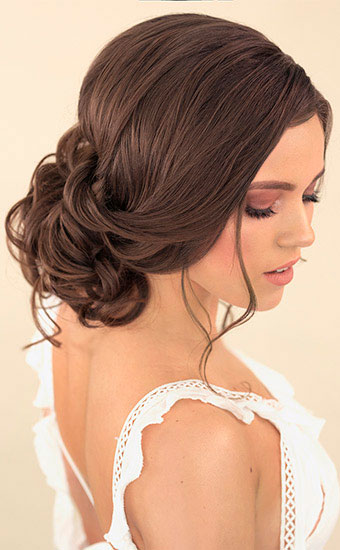 Wedding Hairstyles Bridal Boho Powder Hairstyle