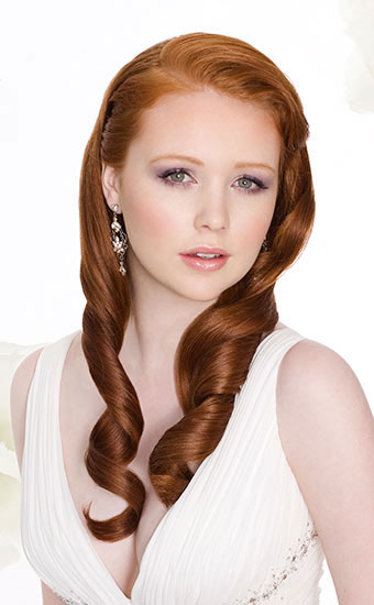 Wedding Hairstyles Down Image