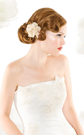 Wedding Hairstyles Finger Wave Wedding Hair