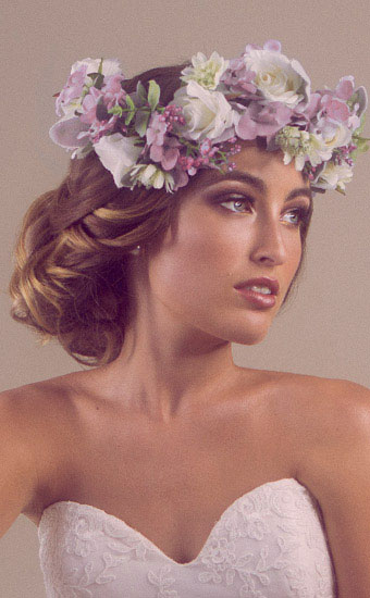 Wedding Hairstyles Flowers Bridal Hairstyle