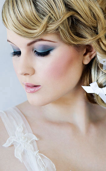 Dramatic Wedding Makeup
