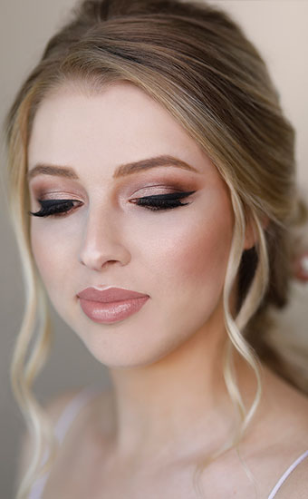 Modern Bridal Makeup Brisbane