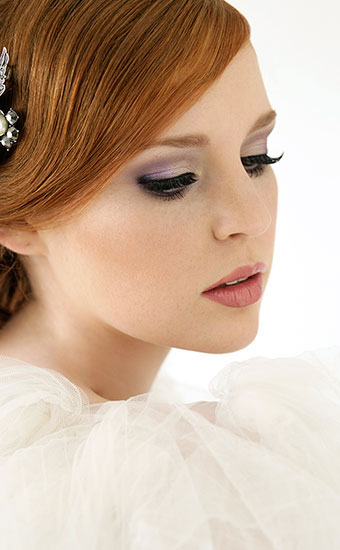 Purple Wedding Makeup Looks